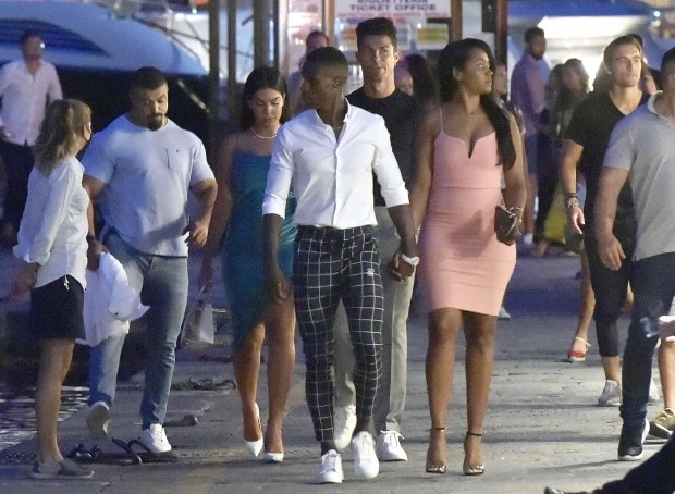 Cristiano Ronaldo and Georgina Rodriguez enjoy romantic dinner with friends in Portofino (photos)
