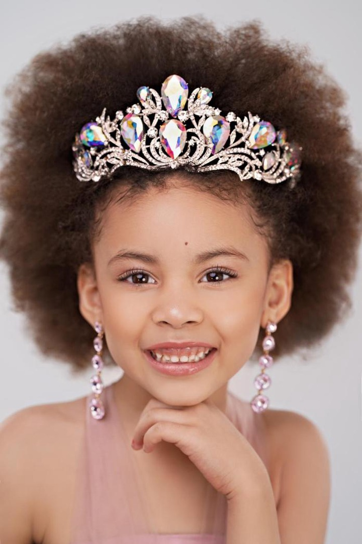 Meet the 5-year old Nigerian girl who won ?Miss Toddler USA 2021? (Photos)
