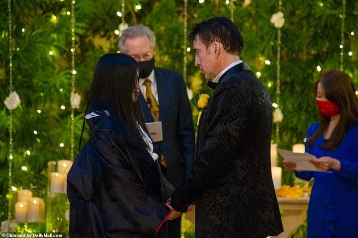 Nicolas Cage, marries his Japanese girlfriend Riko Shibata in Las Vegas, for the 5th time (photos)