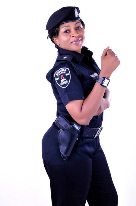 Most Beautiful Female Police Officers in Nigeria