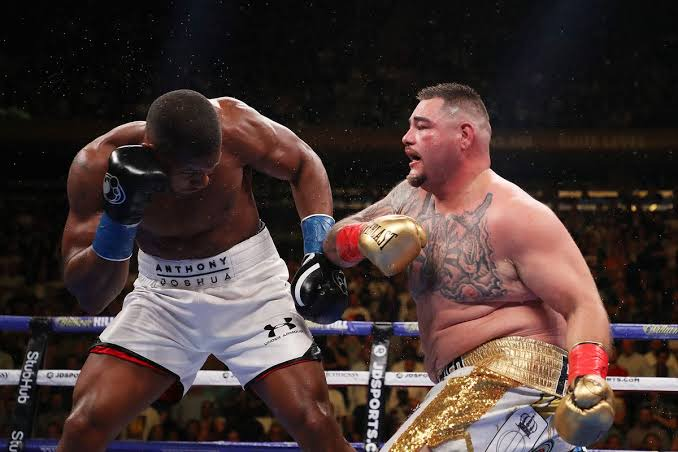 Anthony Joshua vs Andy Ruiz on June 1