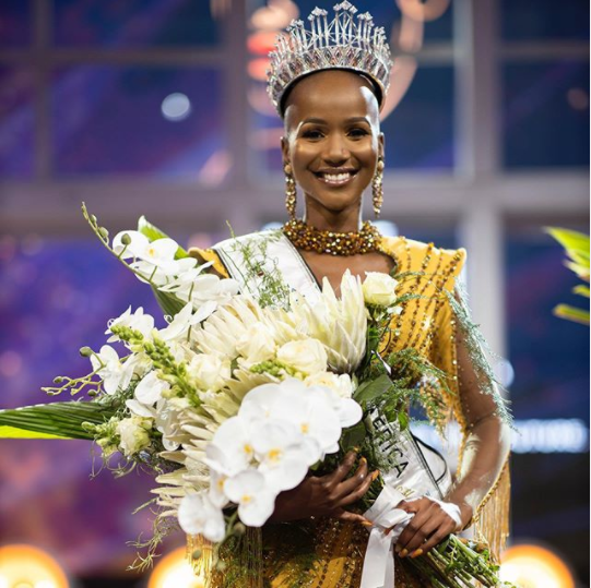 24-year-old Shudufhadzo Musida crowned Miss South Africa 2020 (photos)