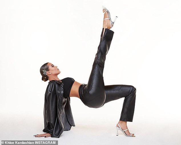 Khloe Kardashian poses topless in new racy photos