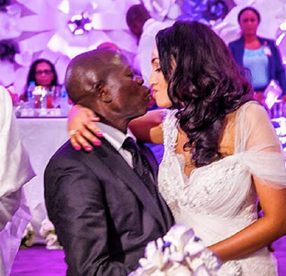 Oshiomhole and Lara Forte got married in 2015