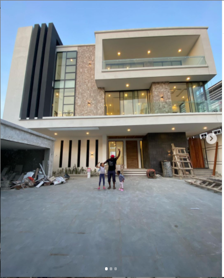 """""""Let?s say Xmas gift came early"""" - Jude Okoye shows off his newly built home in Lagos ?(Photos)"""