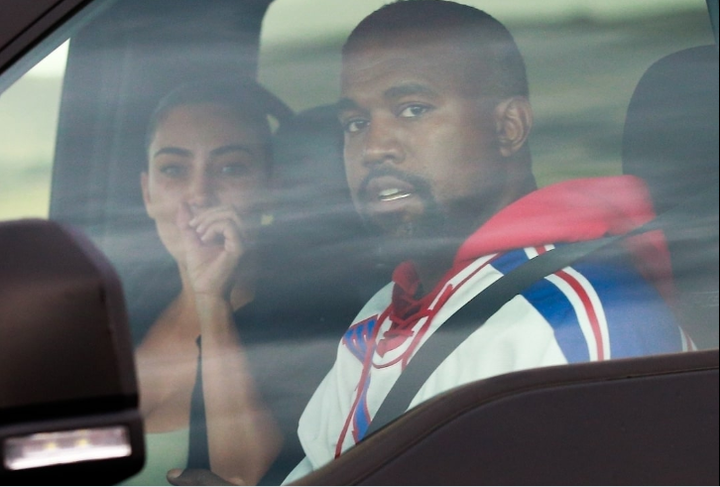 Kim Kardashian breaks down in tears as she reunites with Kanye West in Wyoming for marriage crisis talks (photos)