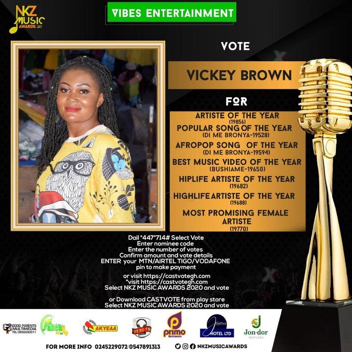 Vicky Brown Gets Endorsement From ZackNation's ShugarBoy