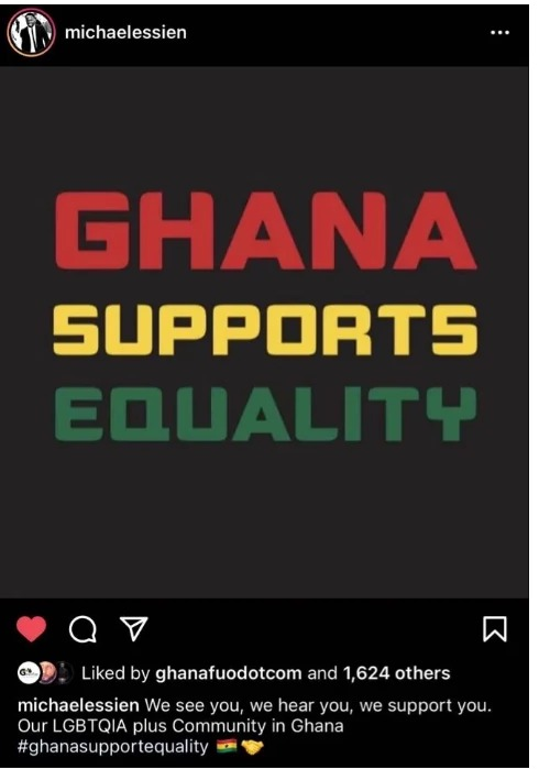 Michael Essien in Serious Trouble for Supporting LGBTQ Group in Ghana