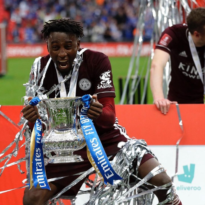 """""""Perfect birthday gift for my daughter"""" - Wilfred?Ndidi dedicates his FA Cup win with?Leicester City?to his daughter,?Jaina."""