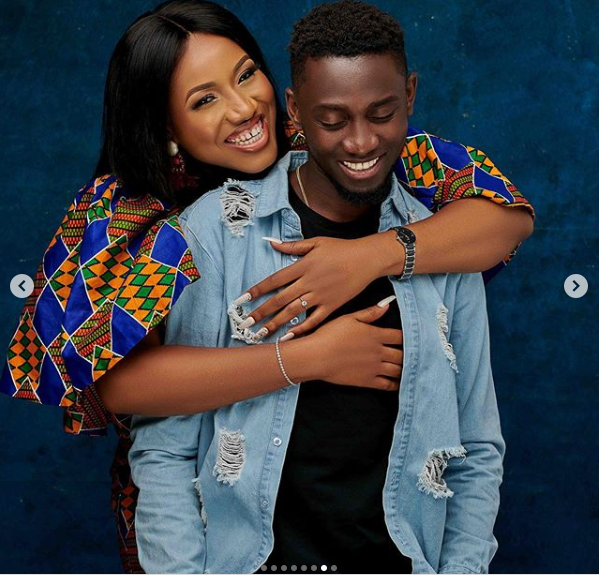 Super Eagles star, Wilfred Ndidi celebrates his wife on her birthday with lovely photos