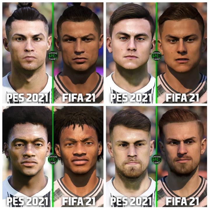 Juventus (L-R): Ronaldo, Dybala, Cuadrado and Ramsey