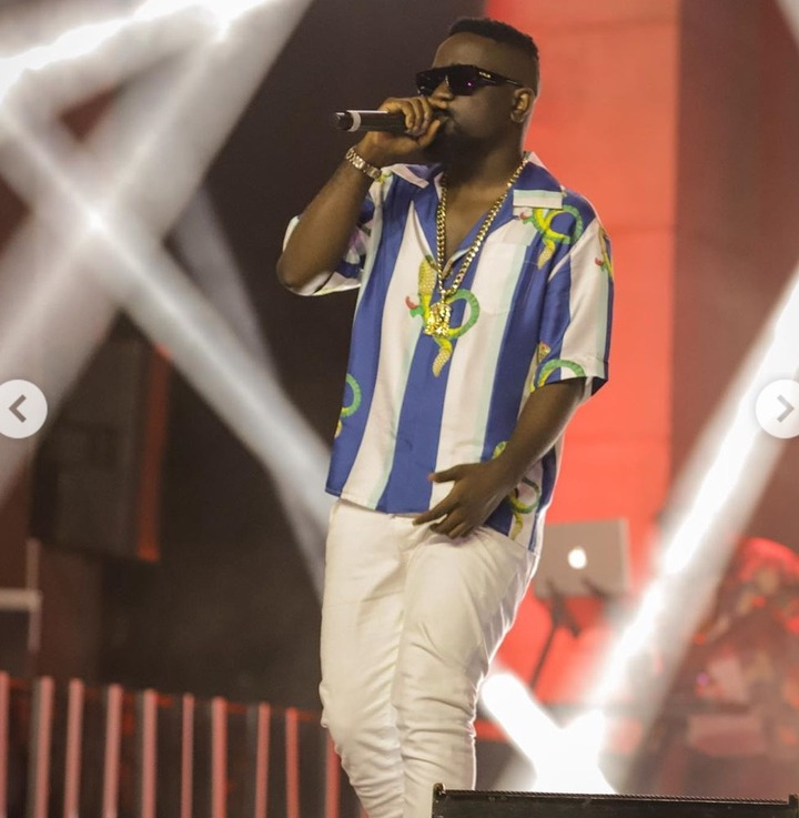 Sarkodie in trouble