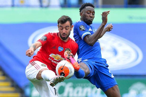 Ndidi challenges Bruno Fernandes