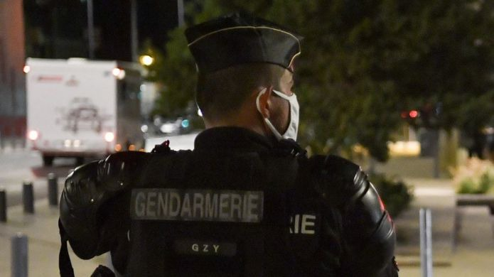 Photo: Gendarmes deployed in the search for the suspects