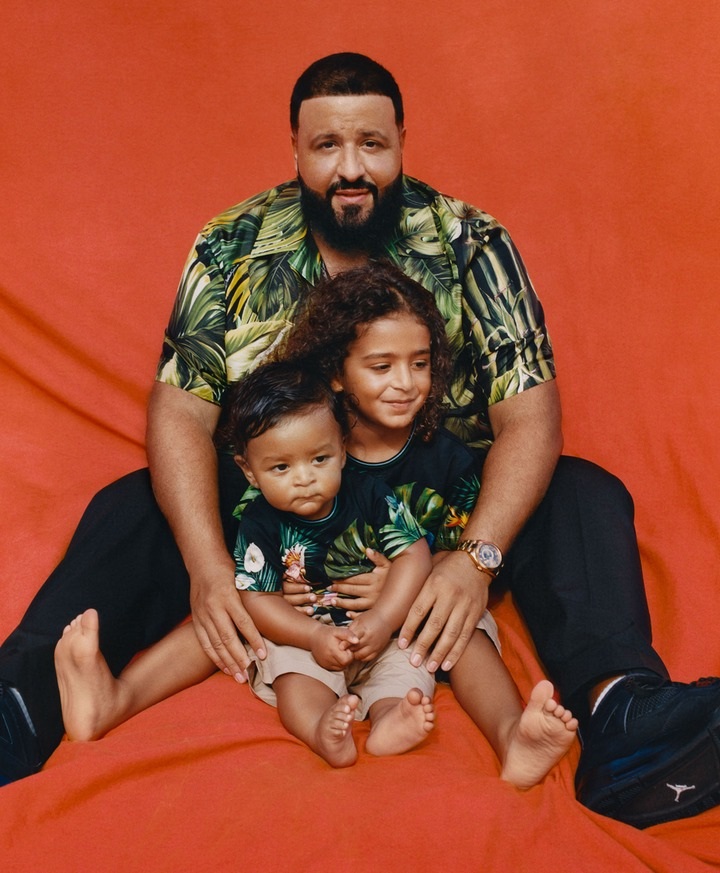DJ Khaled and his family cover Parents Magazine (photos)