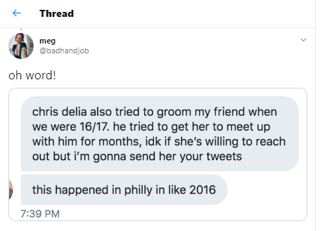 US comedian and actor, Chris D'Elia accused of sexually harassing and grooming underage girls  , All9ja