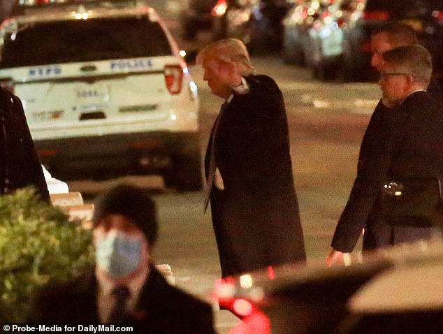 Donald Trump arrives in NYC alone for the first time since leaving the White House?(photos)