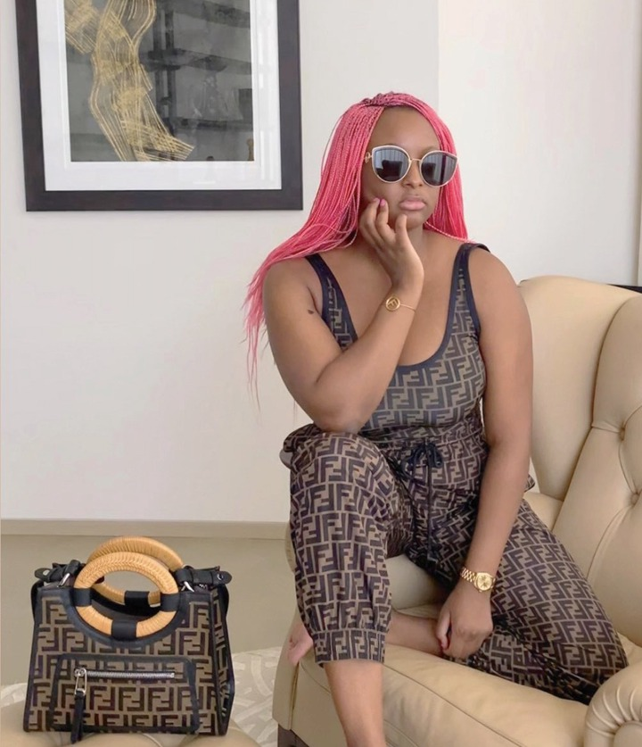 DJ Cuppy drips in head-to-toe Fendi in new stylish photos