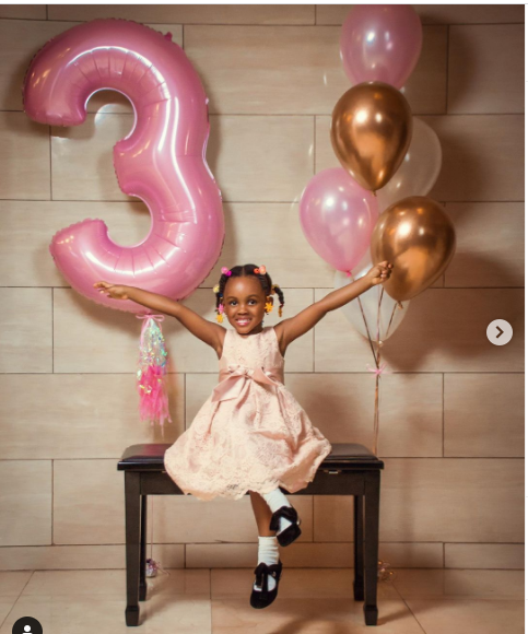 Music executive, Jude Okoye celebrates daughter Eleanor as she turns 3 (photos)