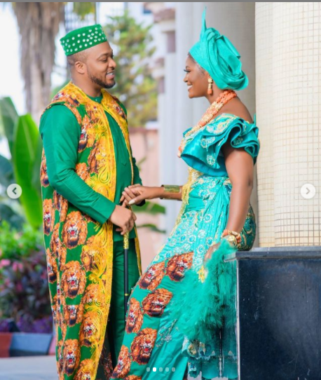 Nollywood actress, Chizzy Alichi and husband Ugochukwu celebrate 1st anniversary of their traditional wedding