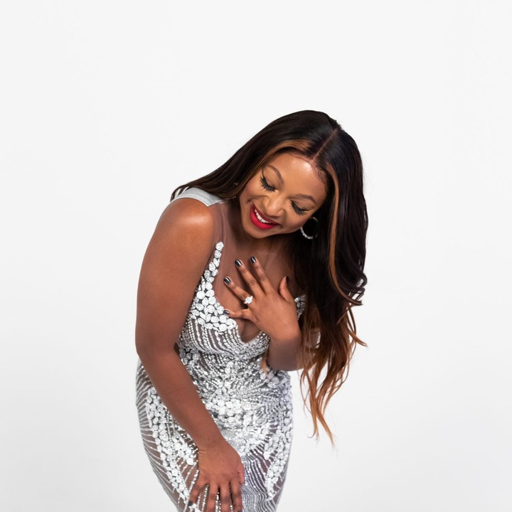 Power star, Naturi Naughton announces her engagement to a mystery man (photos)