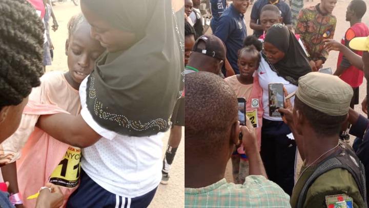 9-year-old girl finish 9th at Ijebu marathon race