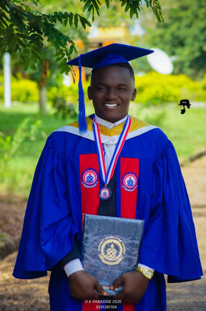Phrimpong Graduates From University