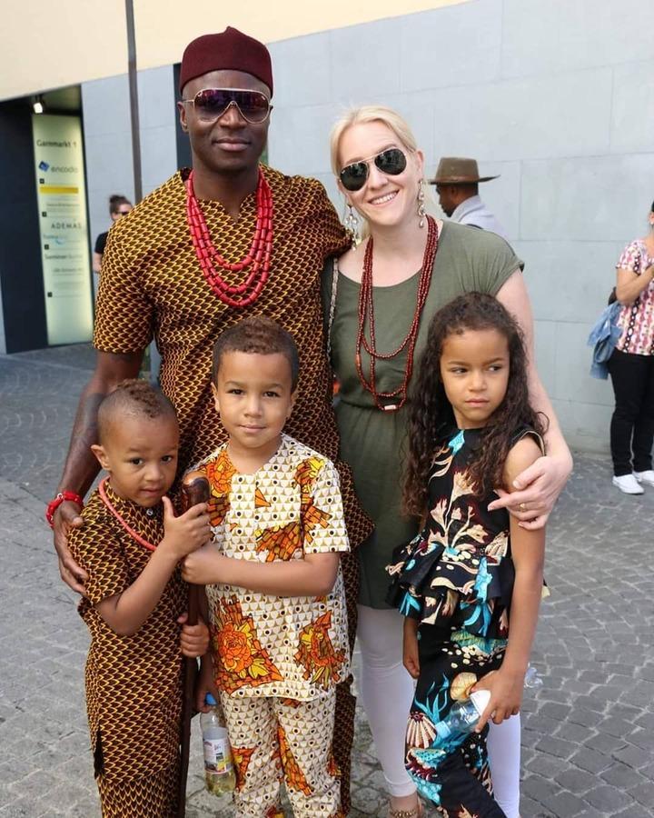 Nwanyi Ocha's family