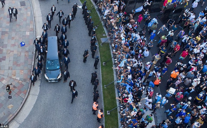 Diego Maradona buried in private ceremony in Buenos Aires (photos)*