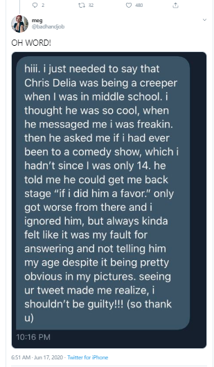 US comedian and actor, Chris D