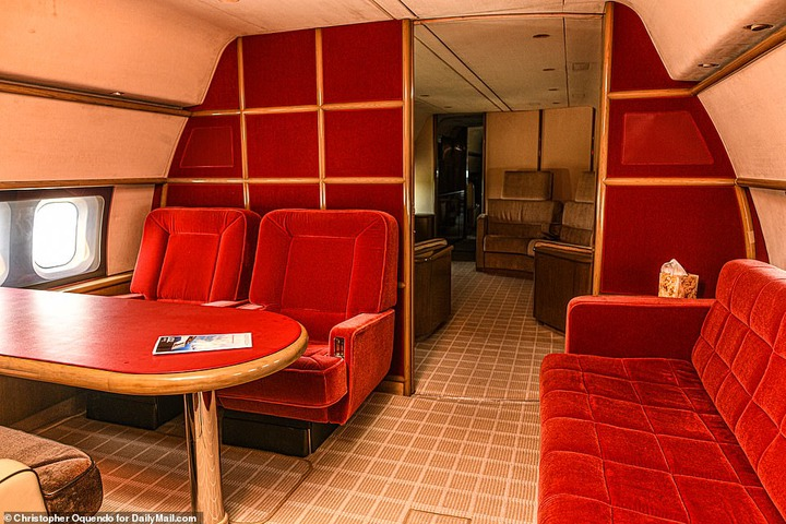 See inside Jeffrey Epstein?s rusting private jet he used in sex trafficking his victims around the world (photos)