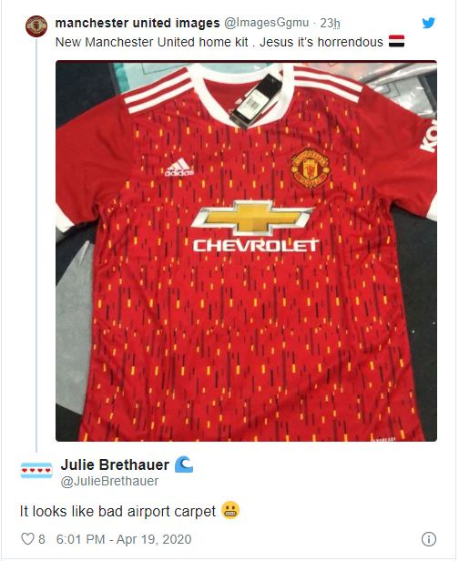 Red Devils 2020 21 Home Jersey Leaked Online As Man United Fans React Fcnaija The Latest Sports News