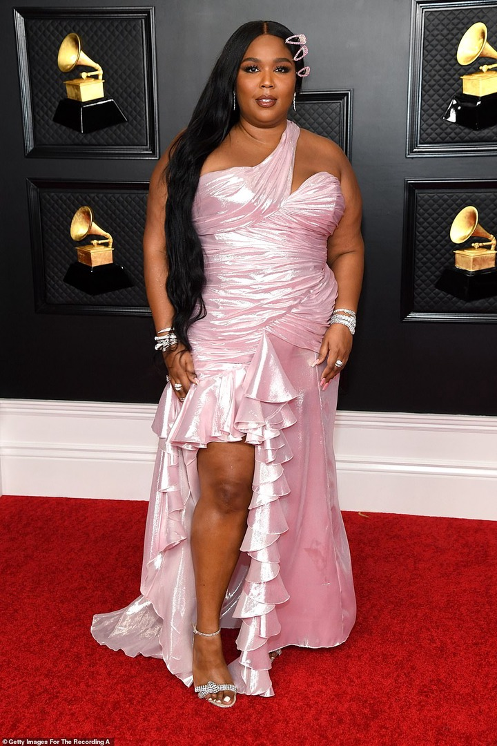 Check out stunning red carpet photos from the 63rd Grammy Awards