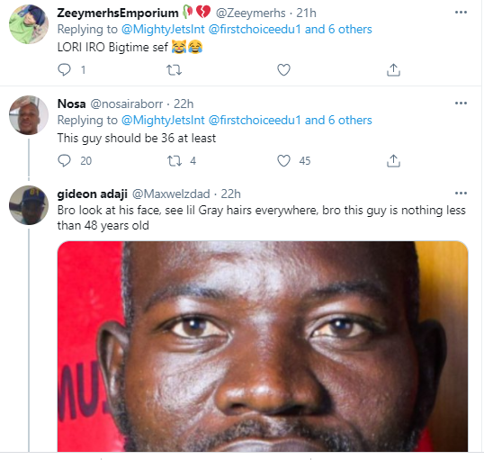 The  rate at which you people lie, the devil will be jealous - Nigerians react as local club, Mighty Jets claim their goalkeeper was born in 1995