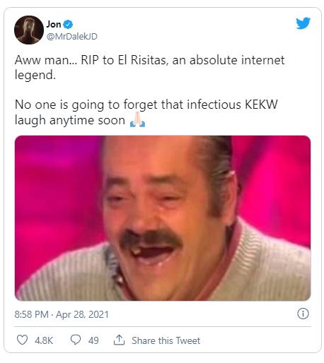 El Risitas, the man behind ?Spanish Laughing Guy? meme is dead