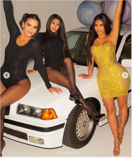 Kim Kardashian shares photos from her surprise 40th birthday party?