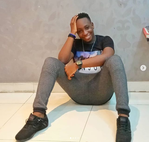 Comedian OwenGee recreates epic throwback photo of himself and his son to celebrate him on his 13th birthday