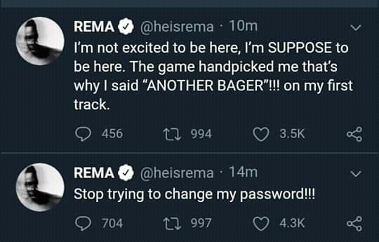 Rema's Twitter Rant: Opinion on the Young Singer's plight - 6bee68ea1ac62f605c78a1a54ed27176 quality uhq resize 720 - Rema's Twitter Rant: Opinion on the Young Singer's plight Rema's Twitter Rant: Opinion on the Young Singer's plight - 6bee68ea1ac62f605c78a1a54ed27176 quality uhq resize 720 - Rema's Twitter Rant: Opinion on the Young Singer's plight