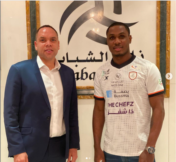 Odion Ighalo signs up