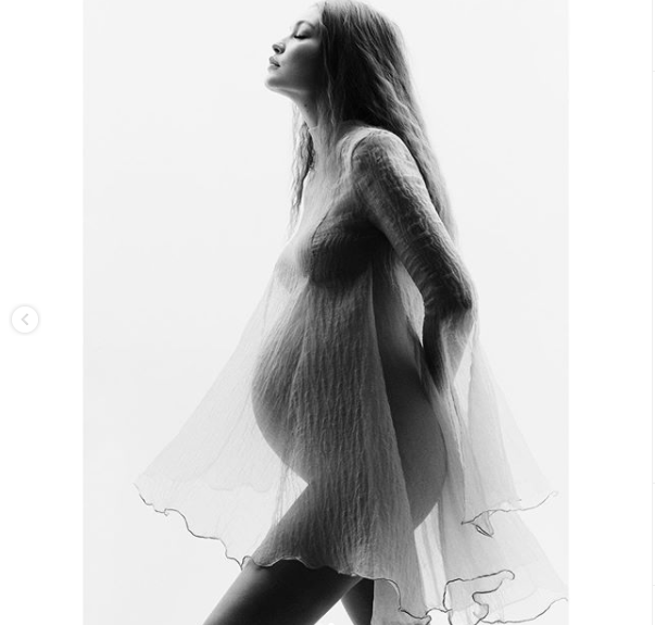 Supermodel, Gigi Hadid shares beautiful maternity photos