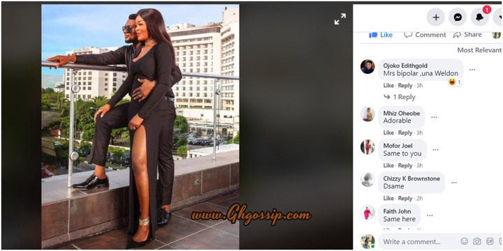 """""""Mrs. Bipolar, Una Well Done""""-Massive Reactions After Chache Eke, Husband Look Like Romeo And Juliet In This New Photo"""
