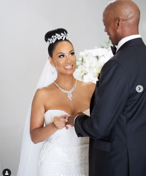Basketball Wives? star, CeCe Gutierrez marries LA Lakers great Byron Scott in live-streamed ceremony (photos)