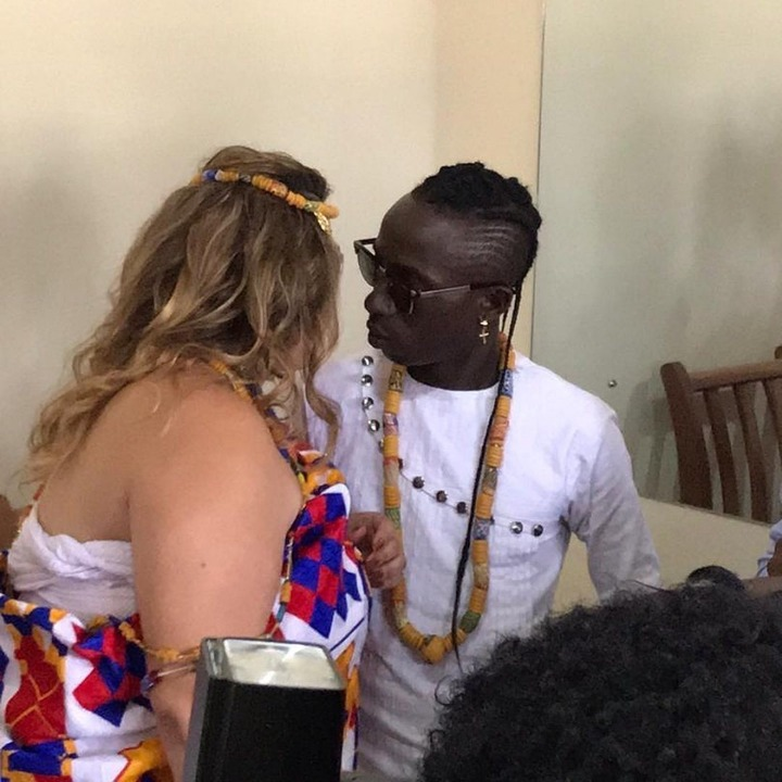 Photos of Patapaa's Wedding With His German Girlfriend Pops Up Online