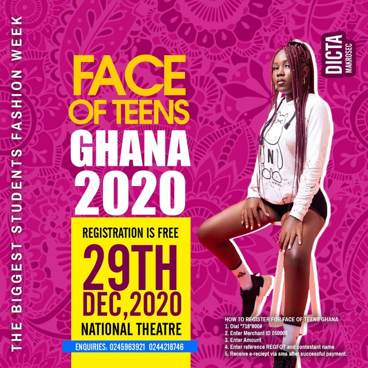 Bola Ray, Appietus and Other Dignitaries To Honour Face of High School & Face of Teens Award On 29th Dec