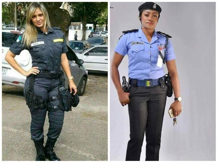 Nigerian Female Police