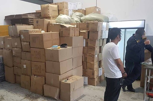 Thousands of fake Covid-19 vaccines seized in South Africa and China?(photos)