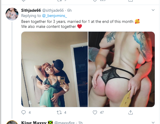 Sex workers in serious relationships show off their partners and reveal how long they