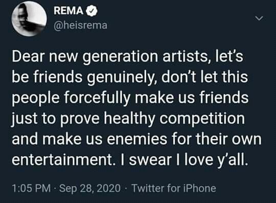 Rema's Twitter Rant: Opinion on the Young Singer's plight - 8bf32088f00ab0150b6d9b6de2dbce13 quality uhq resize 720 - Rema's Twitter Rant: Opinion on the Young Singer's plight Rema's Twitter Rant: Opinion on the Young Singer's plight - 8bf32088f00ab0150b6d9b6de2dbce13 quality uhq resize 720 - Rema's Twitter Rant: Opinion on the Young Singer's plight