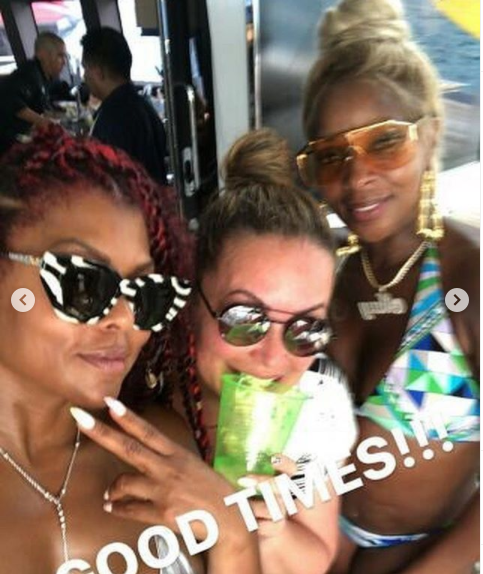Bikini-clad Taraji P. Henson parties on a yacht as she celebrates her 50th birthday in Mexico (photos)