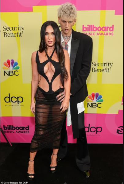 Megan Fox grabs boyfriend Machine Gun Kelly by his crotch at the 2021 Billboard Music Awards (photos)